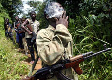 Rebels trying to overthrow the Liberian president may have kidnapped Juerg Landolt