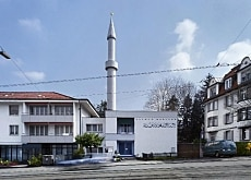 The mosque in Zurich was inaugurated in 1963