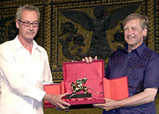 Peter Fischli ( left) and David Weiss won the Golden Lion for overall best work at the Biennale