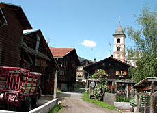 Isolated Alpine villages such as Vrin in canton Graubünden are facing the loss of their population
