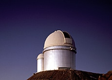 The La Silla observatory in Chile boasts a telescope of 3.6m in diameter (ESO)