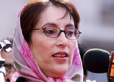 Benazir Bhutto has always denied charges of corruption and money laundering