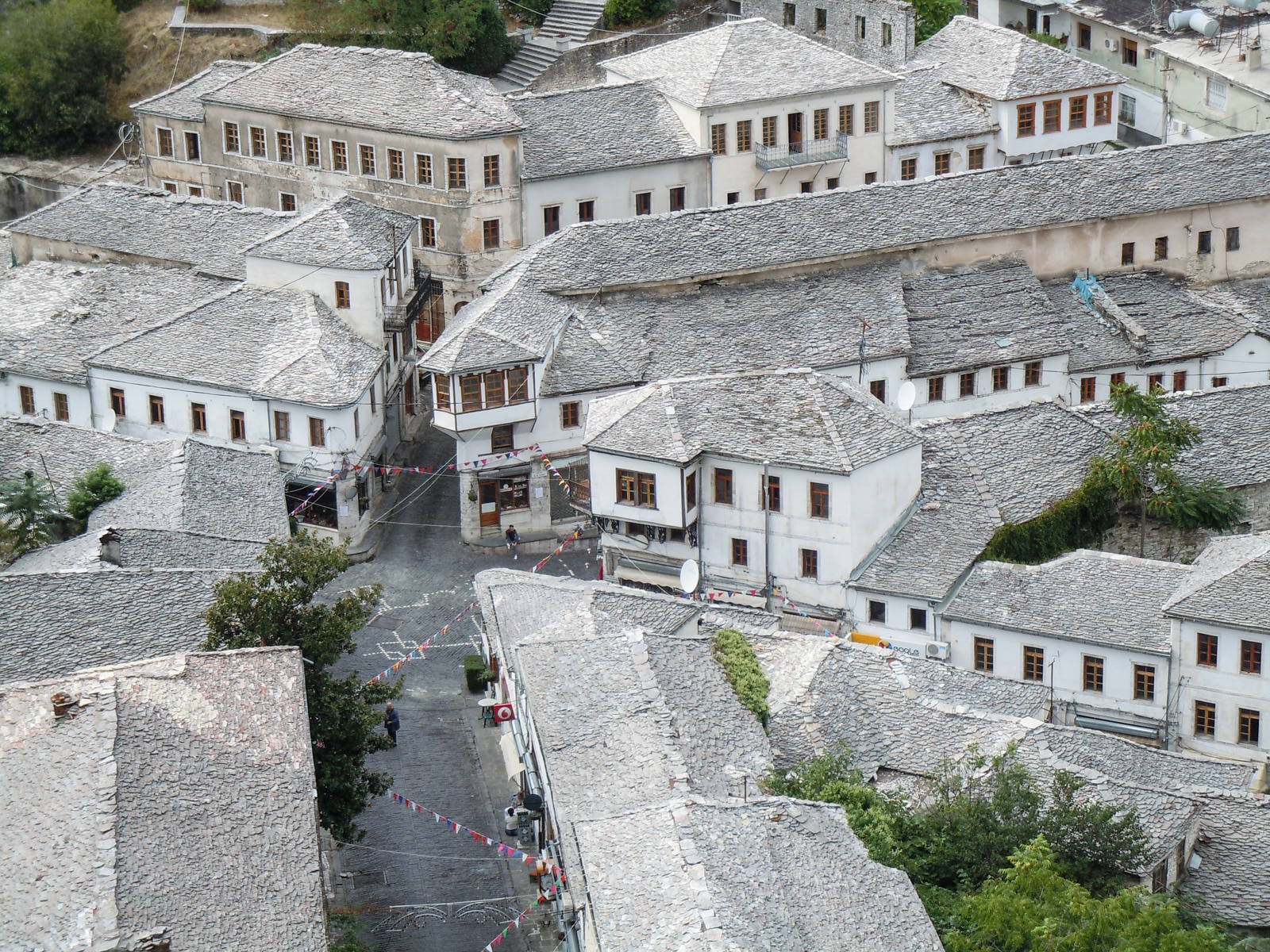 Gjirokastro, one of the country's three UNESCO World Heritage Sites