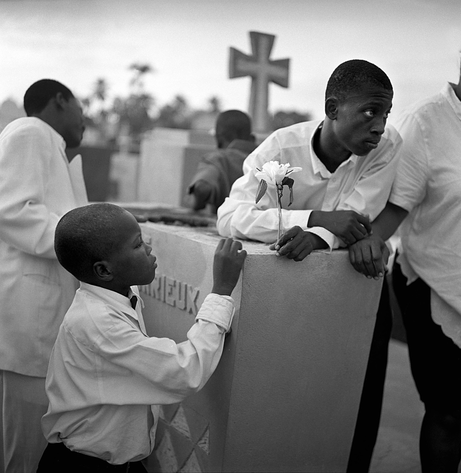 Thomas Kern  A funeral ceremony at Port-au-Prince in Haiti (December 16, 2005).