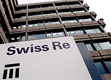Profits are up at Swiss Re