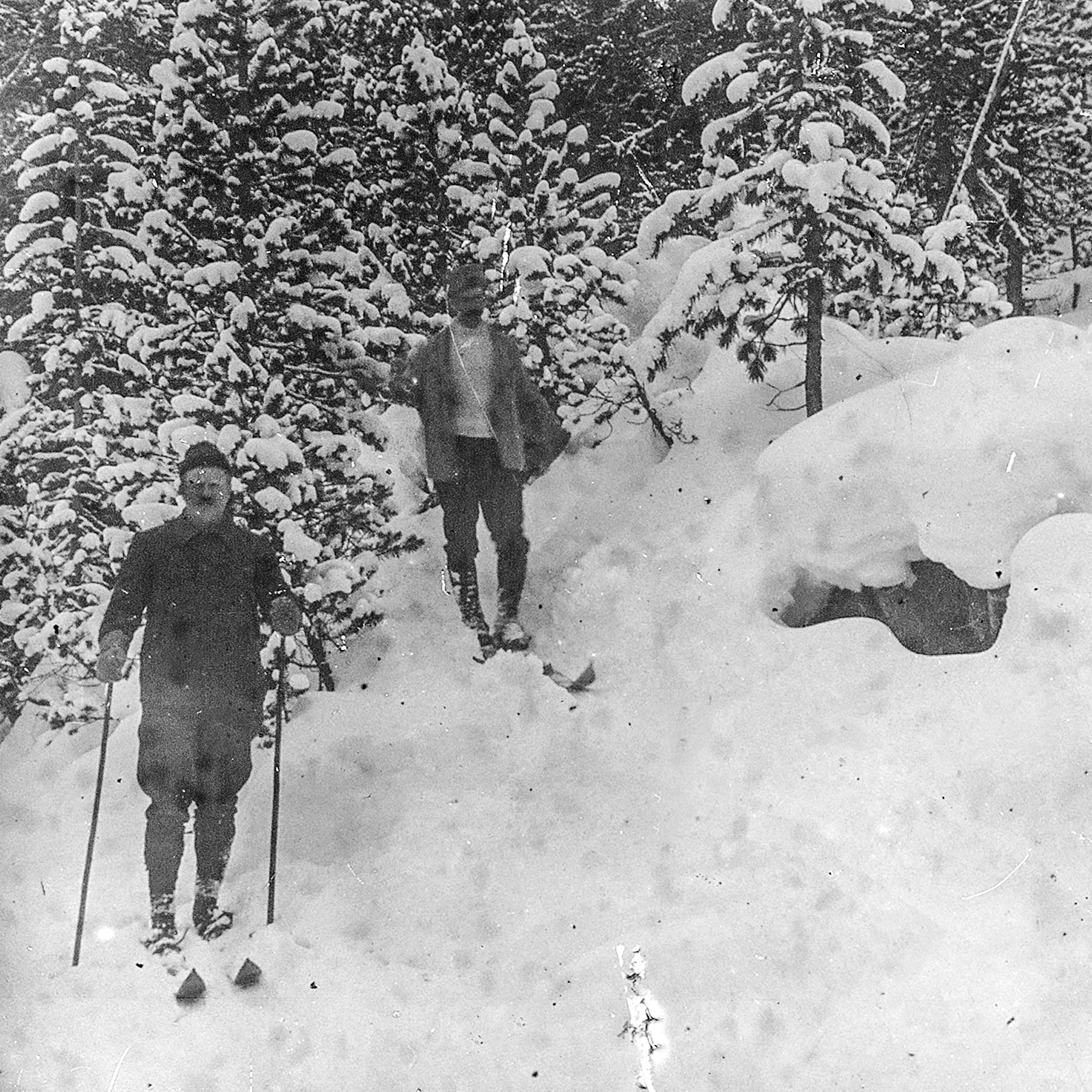 O ecologistaSteivan Brunies foi um dos fundadores do Parque Nacional Suíço e, de1914 até 1941, diretor.