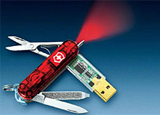 The Swiss Army knife just went high-tech (Victorinox)