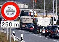 Border controls would ease if the Swiss joined the EU's Schengen accord