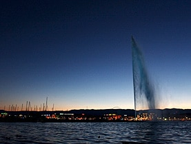 Tourists see Geneva differently from locals