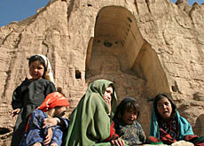 The Bamiyan Buddhas were destroyed by the Taliban regime