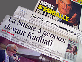 Swiss papers were largely irritated that the country had apologised for upholding its own laws
