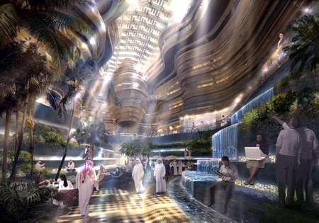 The futuristic Masdar, as seen by Norman Foster
