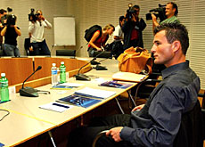 Frei faced Uefa's appeals board for five hours on Wednesday