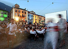 Thousands of film lovers are expected on the Piazza Grande