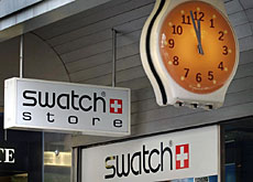 The world's leading watchmaker saw its shares drop amid allegations that it evaded taxes