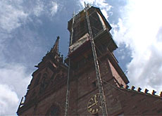 Basel cathedral gets a facelift