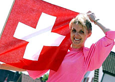 Flying the Swiss flag is an obvious step for some foreigners