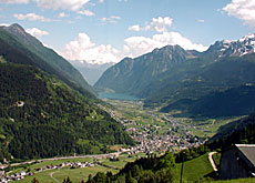 Valleys such as the Poschiavo are losing their population to urban centres