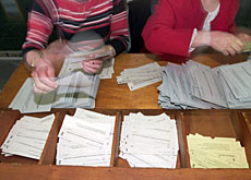 Votes are being counted across the country