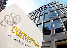 Converium is shedding most of its business in the United States