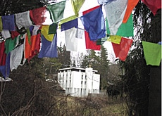 The Rikon monastery is an important sanctuary for Swiss Tibetans
