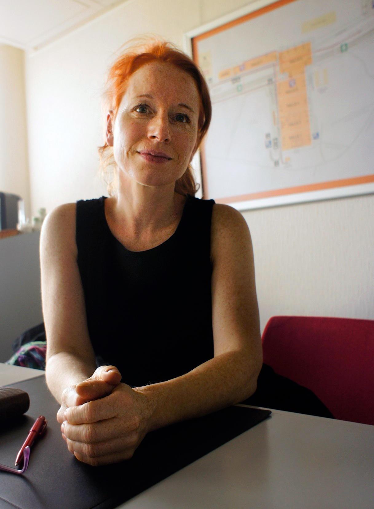 Isabelle Falconnier dirige il Salone del libro di Ginevra dal 2012