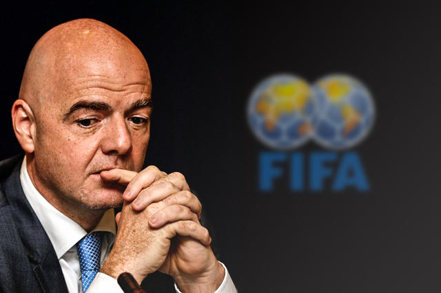 Gianni Infantino has faced a difficult first three months in office