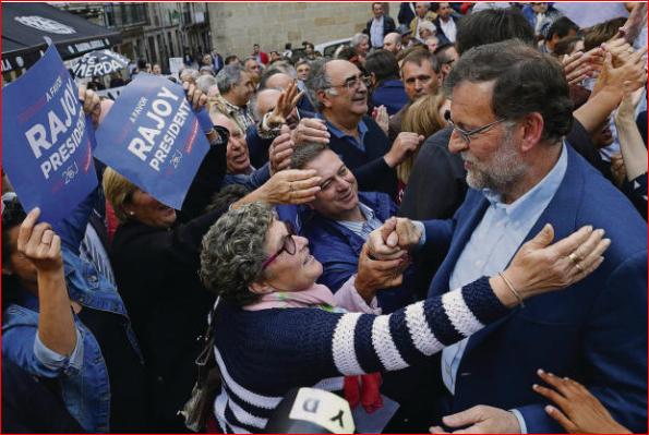 Der konservative spanische Regierungschef Mariano Rajoy müsste für eine von der Linken geduldete Übergangsregierung wohl weichen.