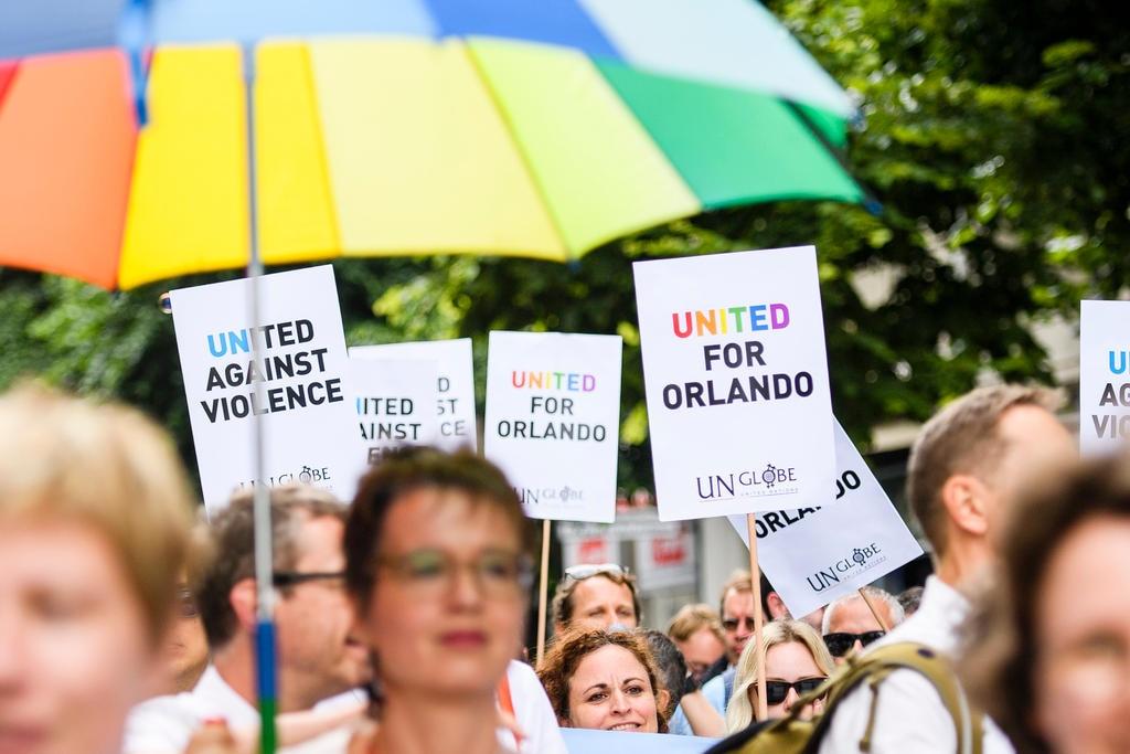 Umbrellas and homosexuals