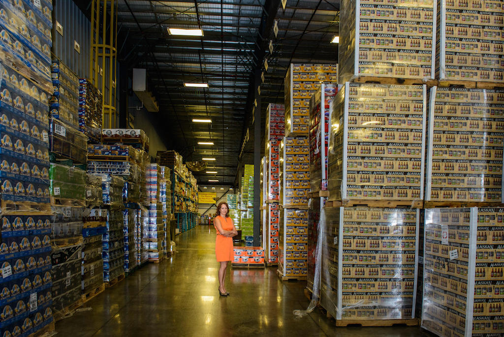 In 2015, K&L Distributors sold about 2.7 million boxes of beer.