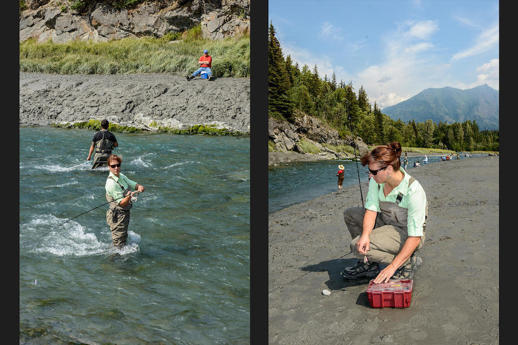 Bird Creek is just 20 minutes from Anchorage, and it's known for its silver salmon.