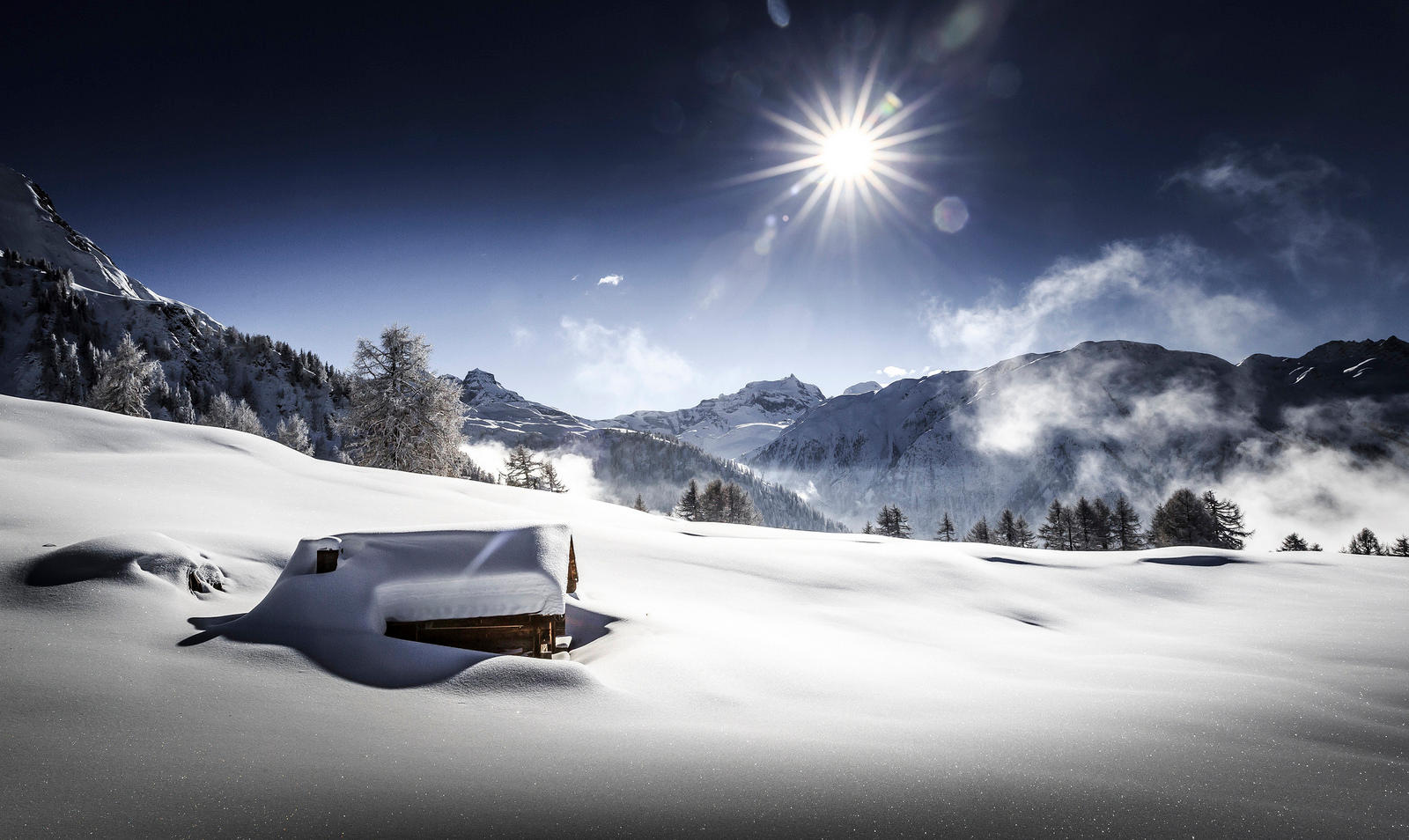 Valais: Winter Wonderland
