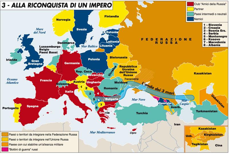 Cartina Russia Politica In Italiano.Le Conseguenze Dell Annessione Della Crimea Alla Russia