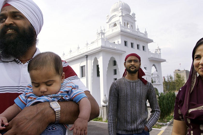 The first Sikh temple in Europe opened its doors in Langenthal not far from the capital Bern. (RDB)