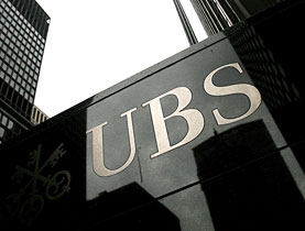 UBS is under pressure in the US