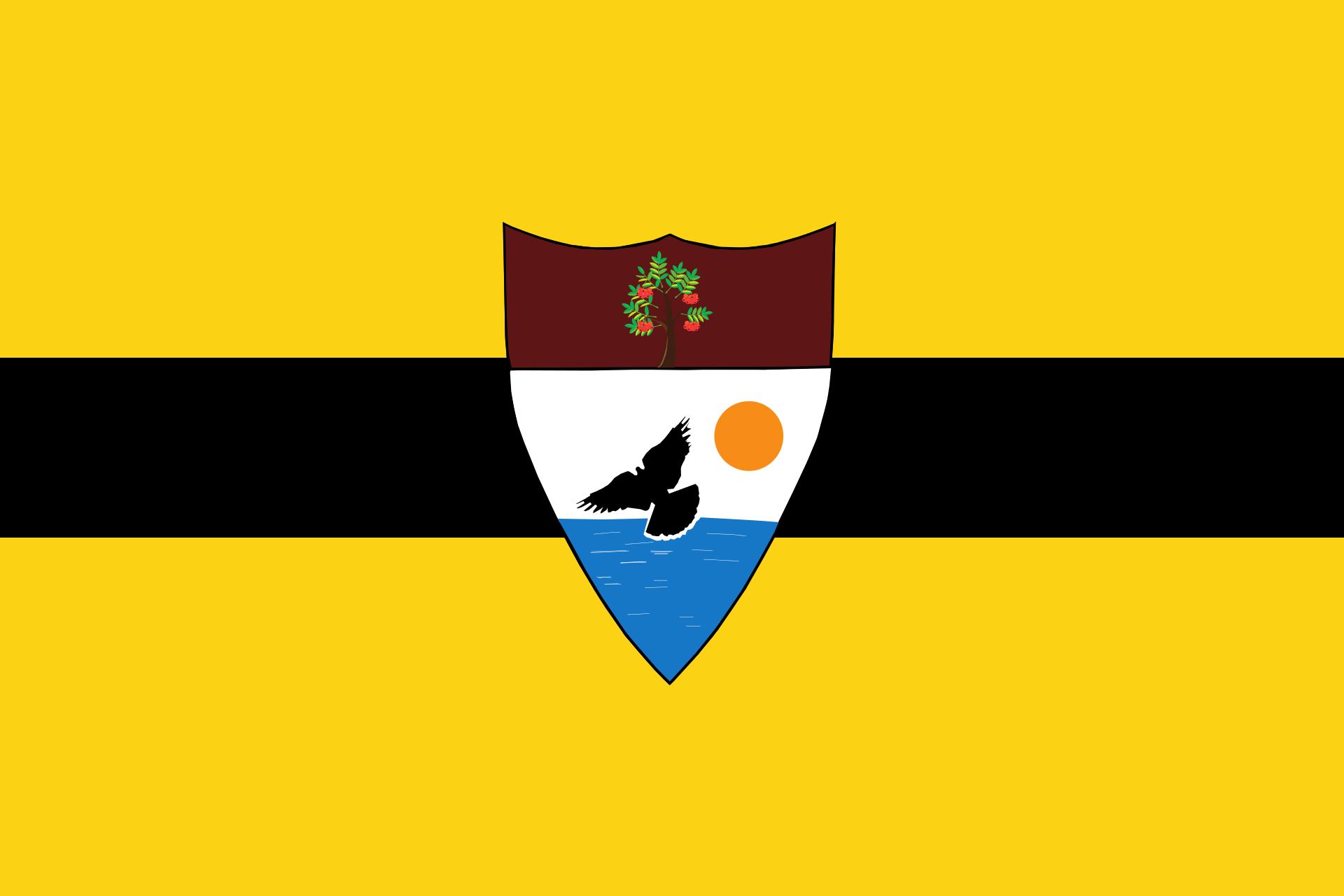 Le drapeau du Liberland