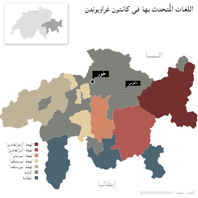 خريطة لغوية