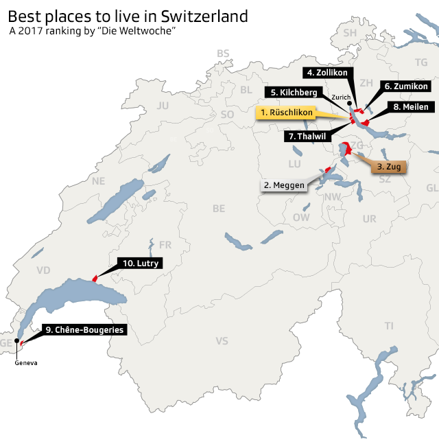 Where are the best places to live in Switzerland? - SWI swissinfo.ch