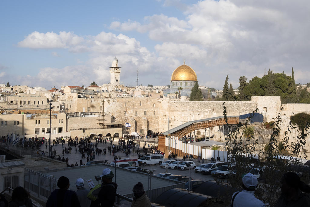 Annonce sur Jérusalem: «une entrave à la paix» pour la Suisse