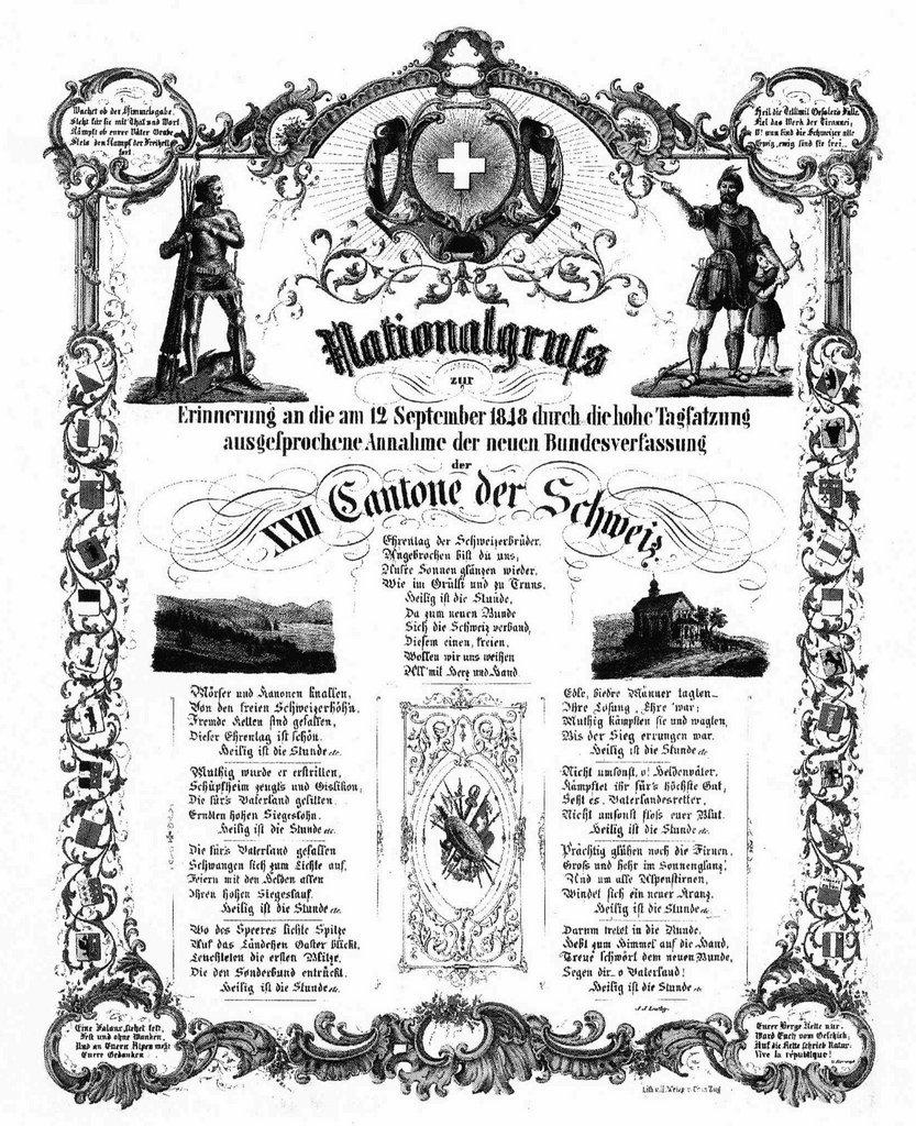 Historical commemorative sheet for the constitution