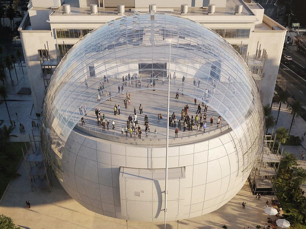 300 millionen museum in los angeles soll mitte 2019 aufgehen swi. Black Bedroom Furniture Sets. Home Design Ideas
