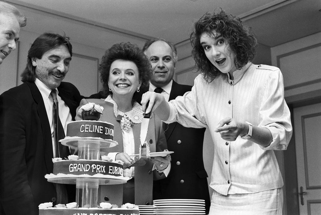 Znalezione obrazy dla zapytania: celine dion at eurovision 1988