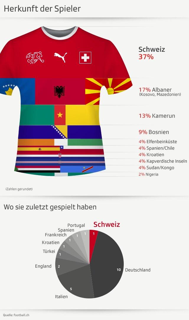 Schweizer Fussball Nationalmannschaft Das Mussen Sie