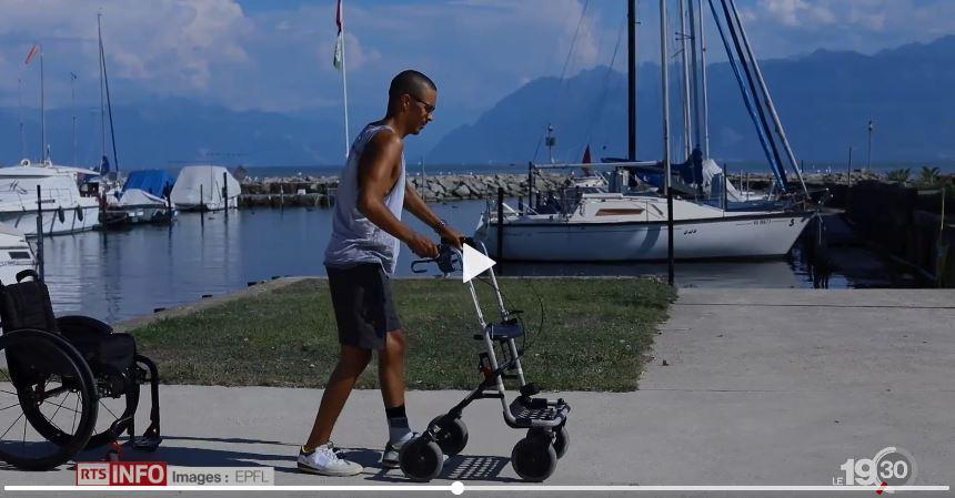 Première mondiale Des paraplégiques retrouvent l'usage de leurs jambes