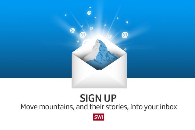 Sign up! Move mountains, and their stories, into your box