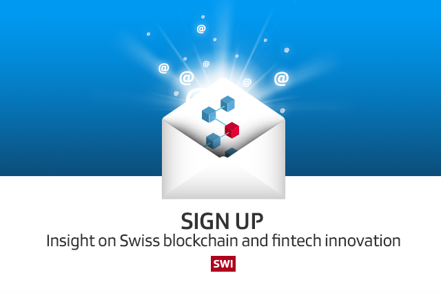Sign up! Insight on Swiss blockchain and fintech innovation