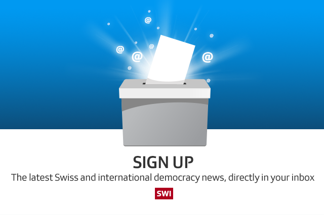 The latest Swiss and international democracy news, directly in your inbox=