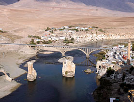 Hasankeyf city and 199 historical locations will be flooded by Ilisu Dam