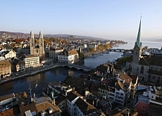 Zurich Altstadt is a favourite with tour guides and tourists