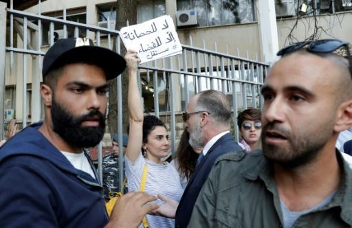 Continúa la movilización en Líbano, con escuelas y bancos cerrados - swissinfo.ch